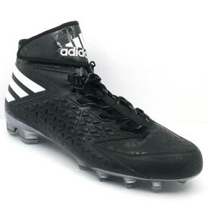 ADIDAS Black White Freak X Carbon Football Cleats